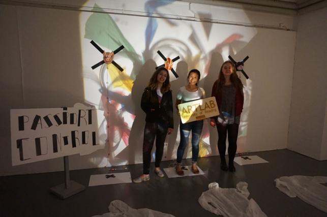 ArtLab installation workshop