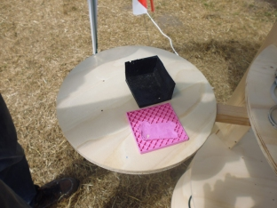 3Dprints of archeological dig trench